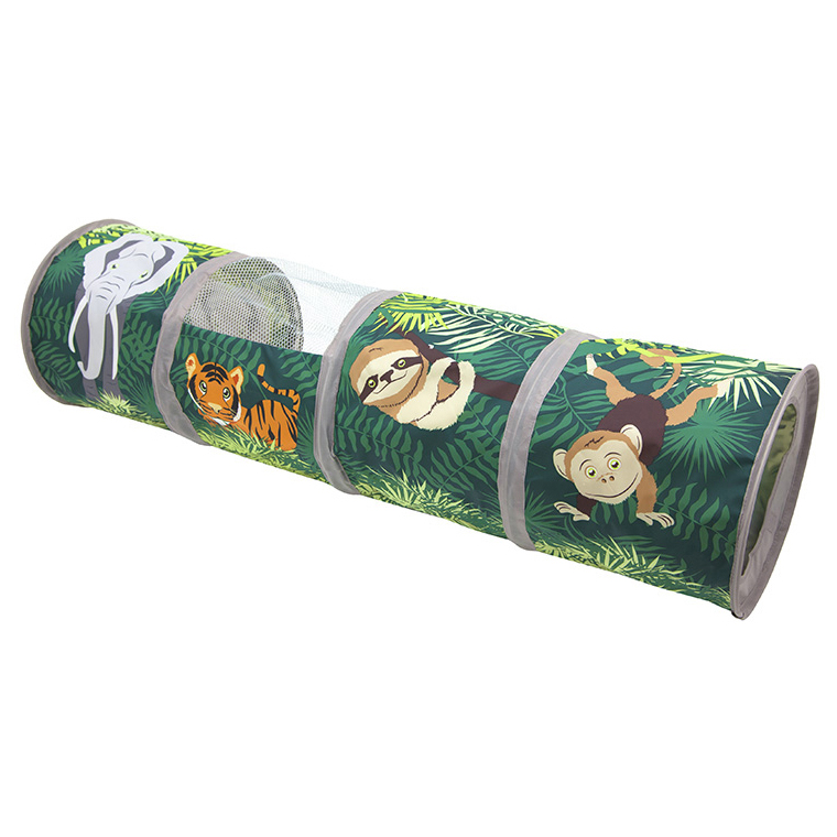 Jungle Collapsible Play Tunnel
